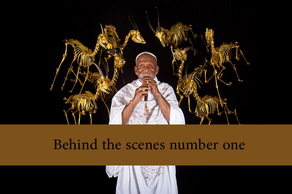 Behind the scenes number one - Public Mourning Video