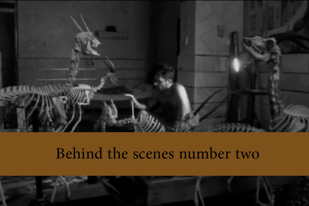 Behind the scenes number two - Public Mourning Video