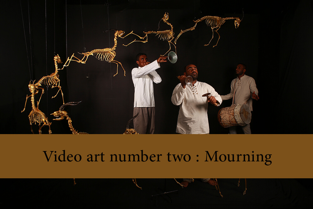 Video art number two   Mourning - Public Mourning Video